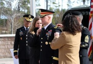 General Officer promotion ceremony