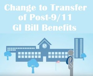 GI Bill Transfer Changes
