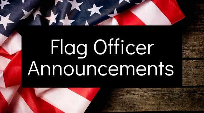 Flag Officer Announcements 2021