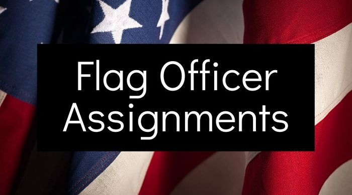 Flag Officer Assignments 2021